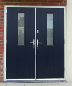 Composite timber doors double doors for Upvc french doors inward opening