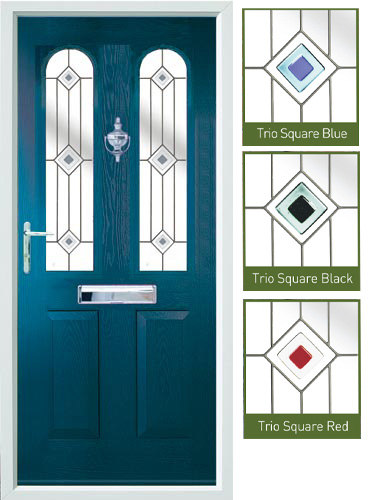 Nottingham Blue Composite Door  sc 1 st  Composite Timber Doors.. & Composite Timber Doors.. » Nottingham